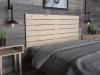 La Web Del Colchon -cabecero De Madera Rústico Campagne Para Cama De 150 (160 X 74 Cms) Crudo Sin Pintar