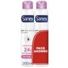 Desodorante en spray Dermo Invisible Sanex pack de 2 unidades de 200 ml.