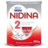 Leche de continuación 2 desde los 6 meses Nidina 2 Premium sin aceite de palma 800 gr