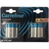 Pack de 12 Pilas Alcalinas I-Tech Carrefour Lr03 (Aaa)