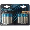 Pack de 12 Pilas Alcalinas I-Tech Carrefour Lr06 (Aa)