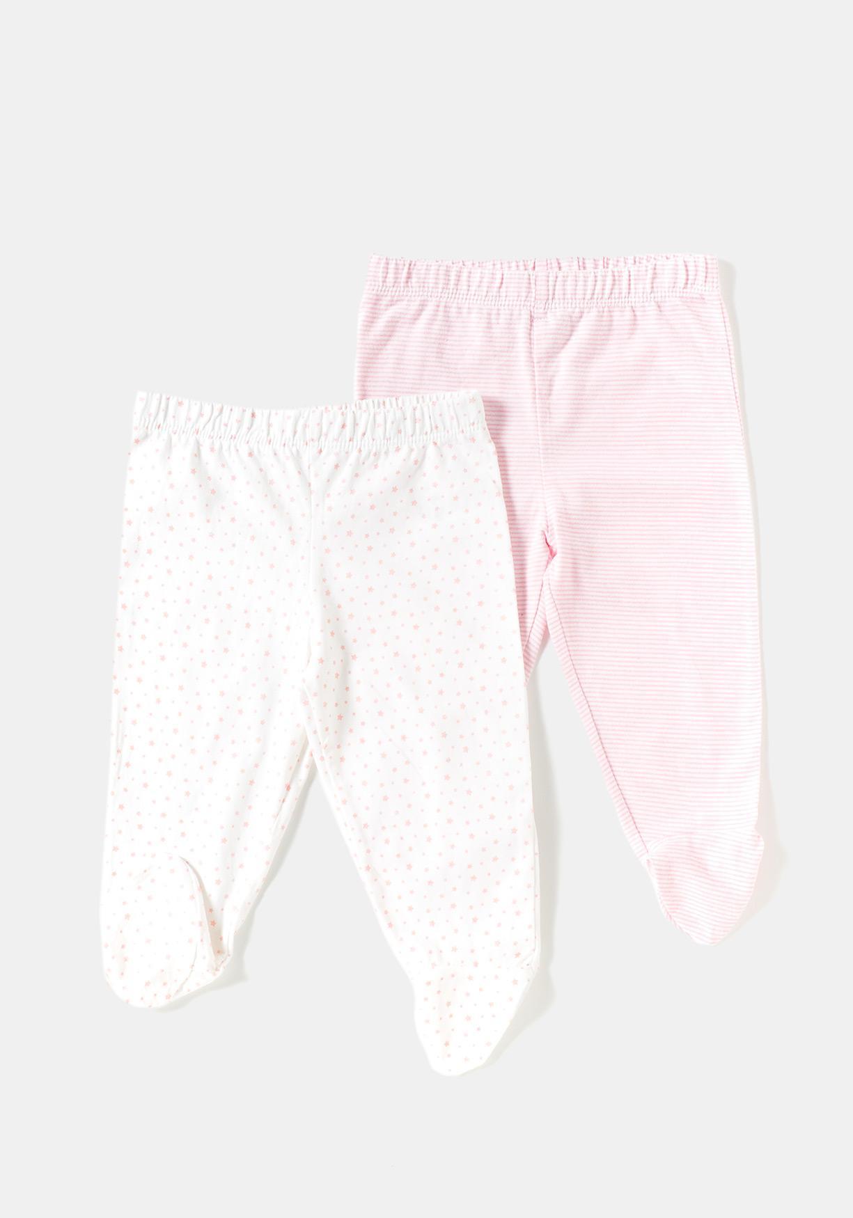Comprar Pack de dos polainas de recién nacido algodón sostenible TEX ... 744c77ccd338