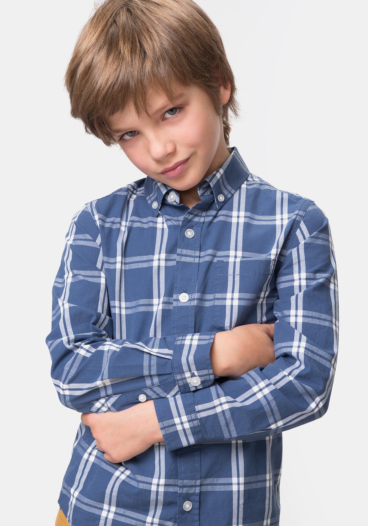edd55fc1233 Comprar Camisa de cuadros manga larga TEX. ¡Aprovéchate de nuestros ...