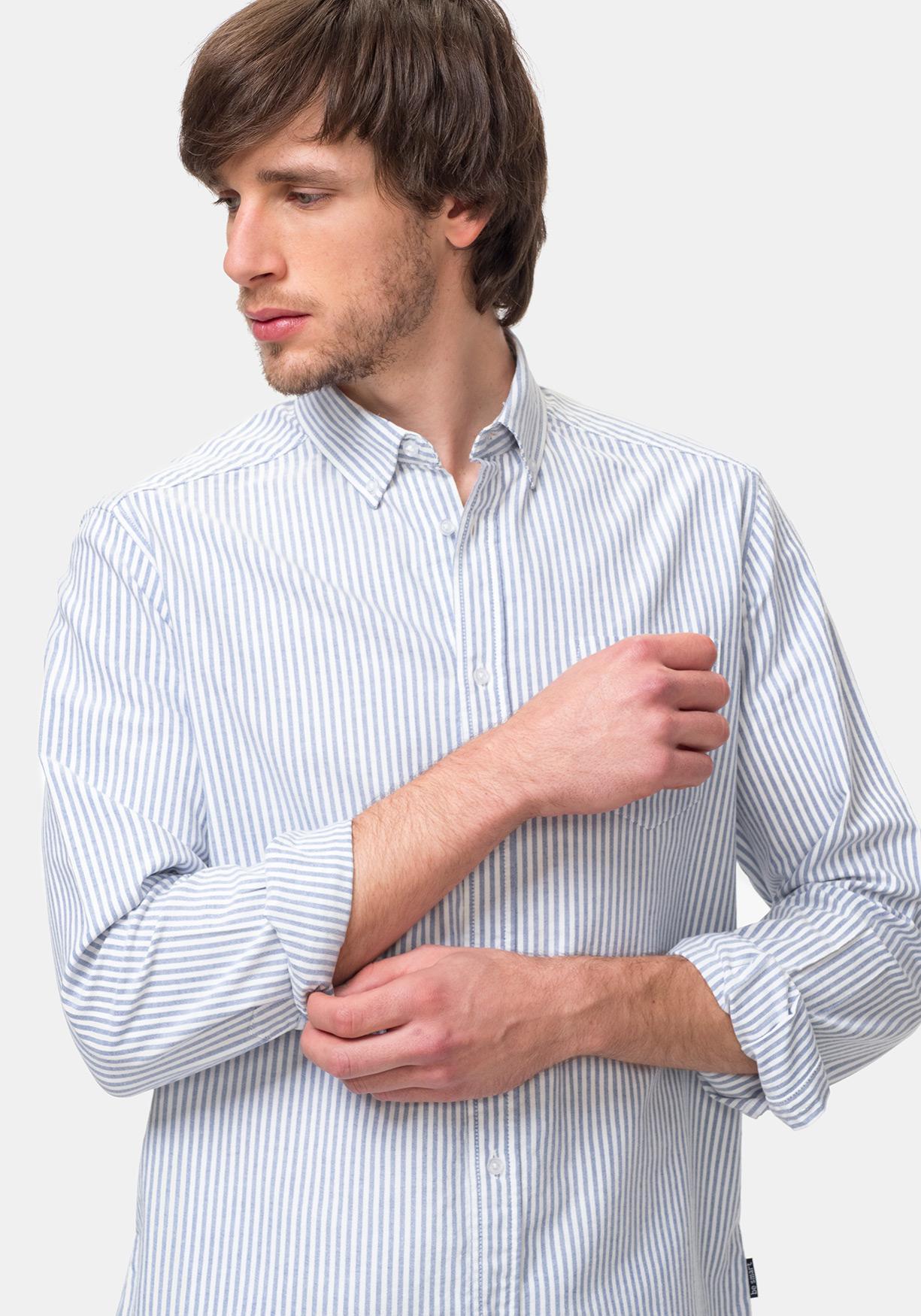 56e08fea255df Comprar Camisa de rayas manga larga TEX. ¡Aprovéchate de nuestros ...