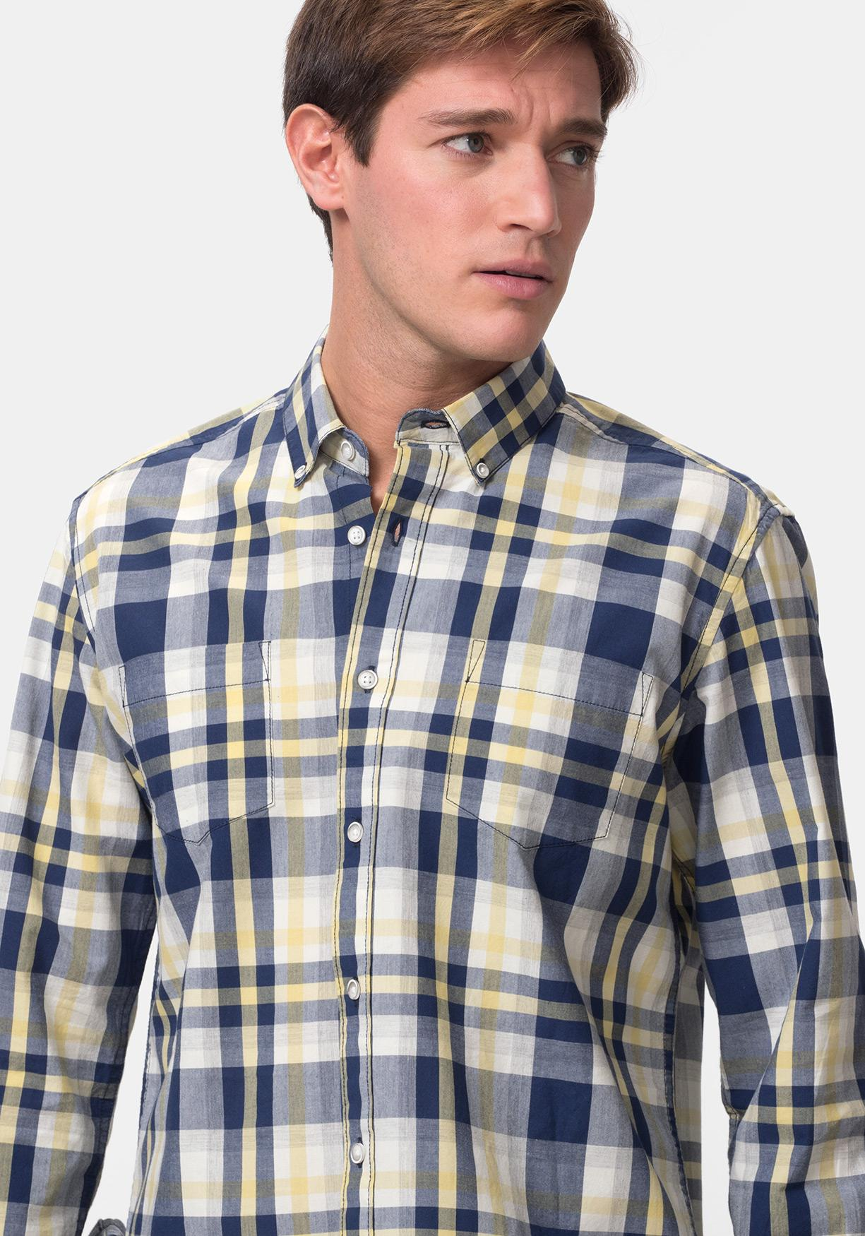 2d51692622144 Comprar Camisa de cuadros manga larga TEX. ¡Aprovéchate de nuestros ...
