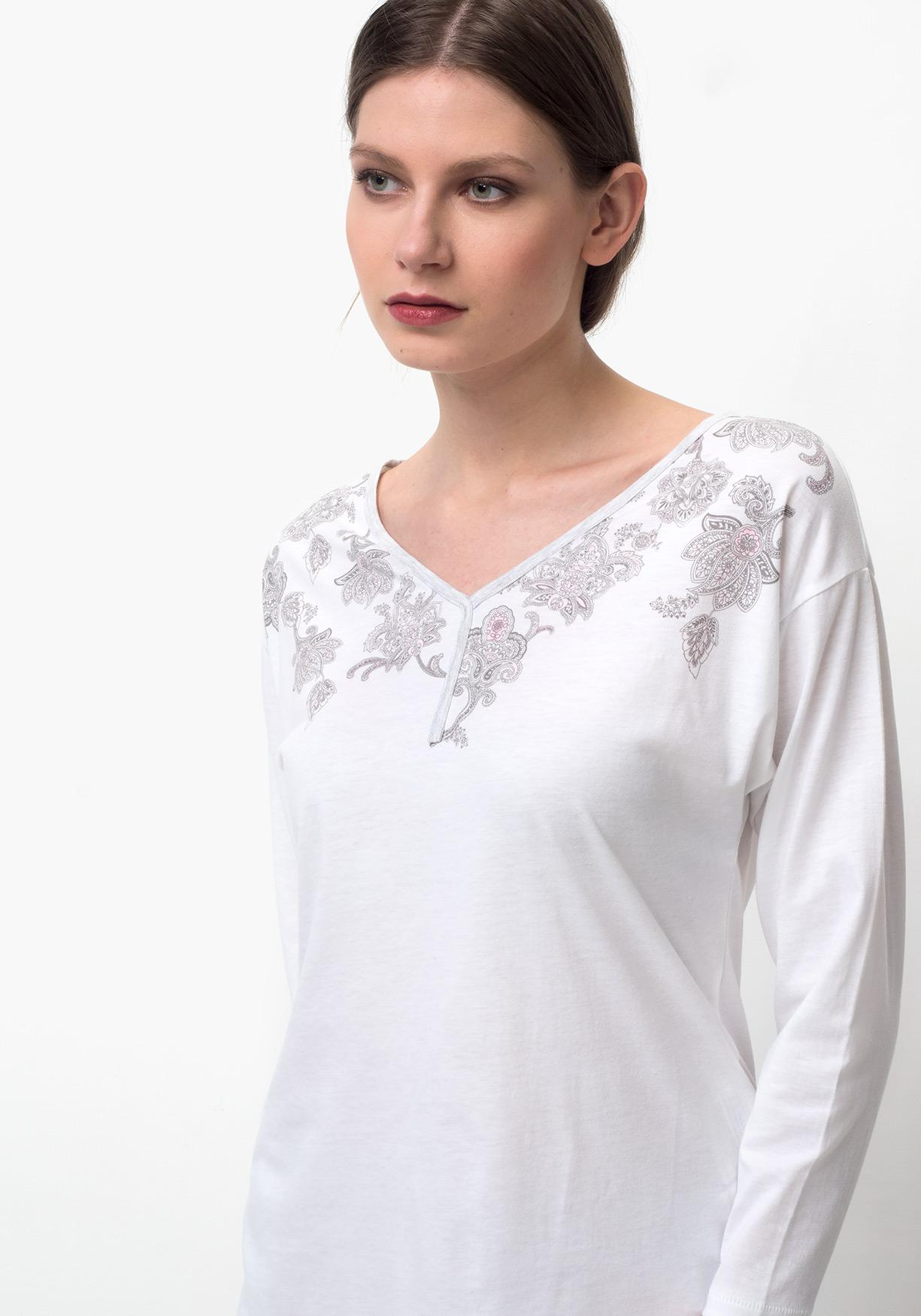 c4a84931d4 Comprar Camiseta lencería de mujer manga larga TEX. ¡Aprovéchate de ...