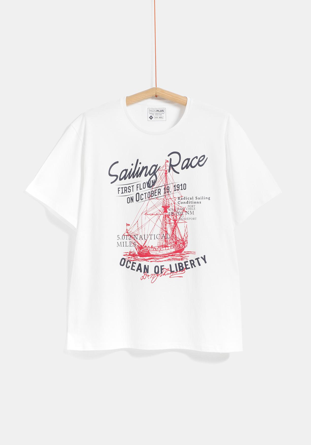 01927a1c1ad Comprar Camiseta de manga corta para Tallas Grandes TEX ...