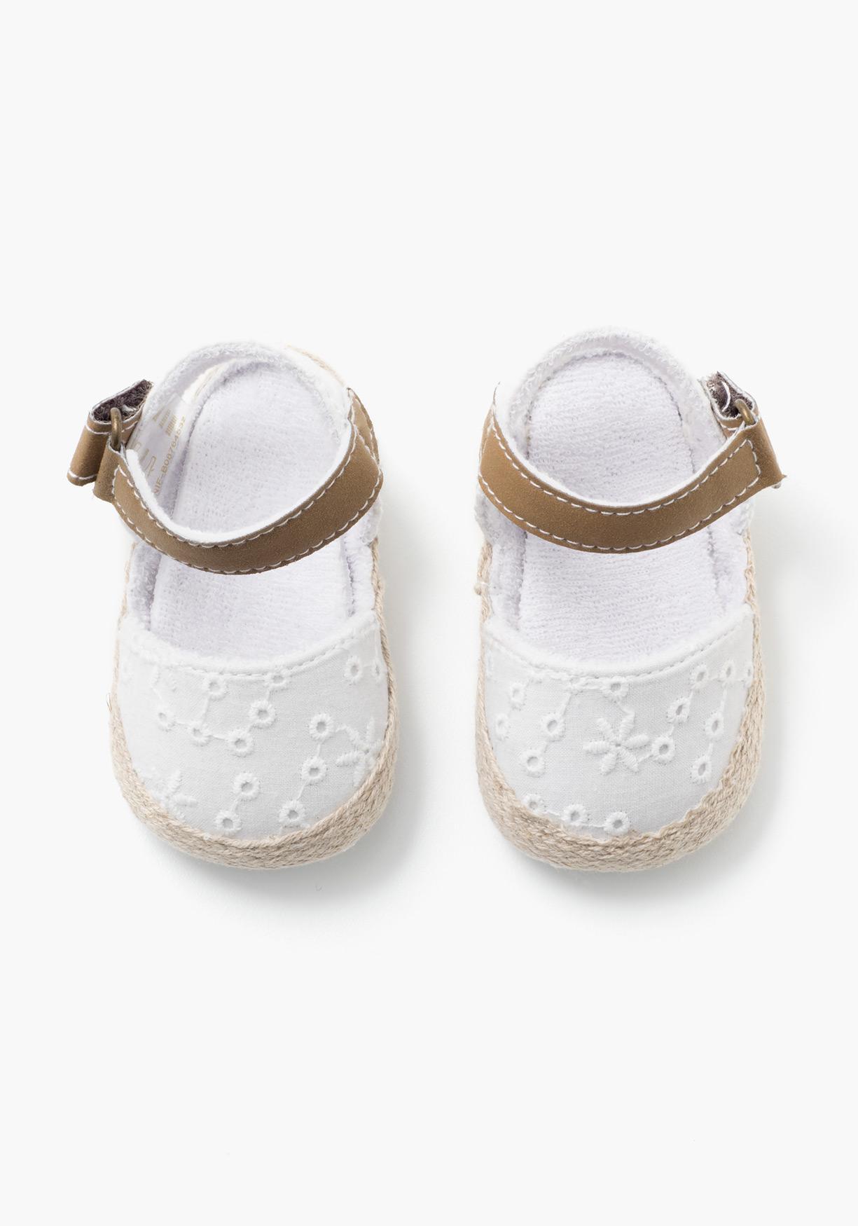 talla 40 08efe c24a6 Comprar Alpargatas ibicencas de recién nacido BB CLASS ...