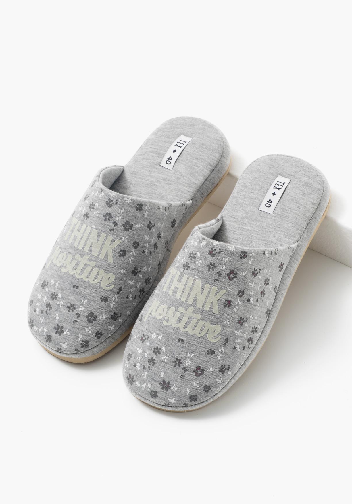 Comprar zapatillas de estar por casa estampadas tex aprov chate de nuestros precios y - Zapatillas para casa ...
