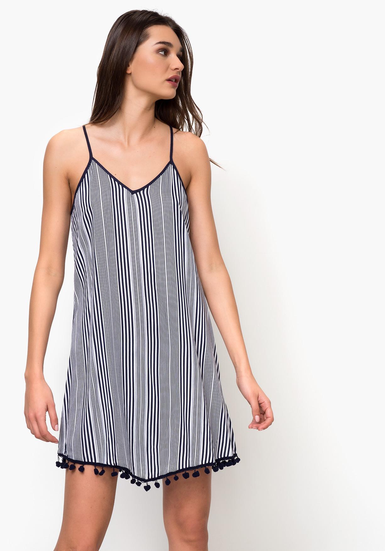 af49ed79 Comprar Vestido playa de mujer con rayas TEX. ¡Aprovéchate de ...