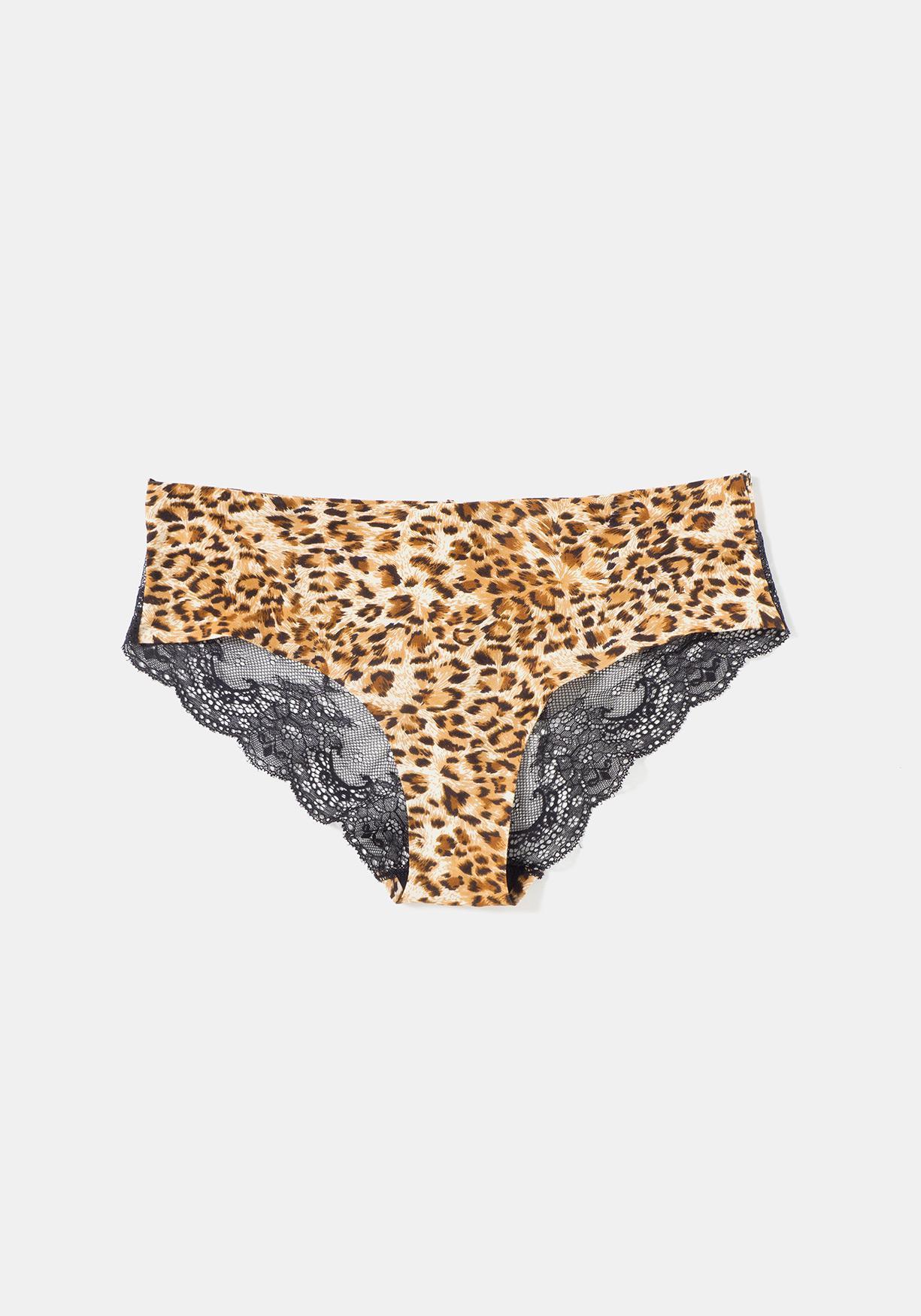 b8e366b21cc4 Comprar Braguita bikini estampada y con encaje. ¡Aprovéchate de ...