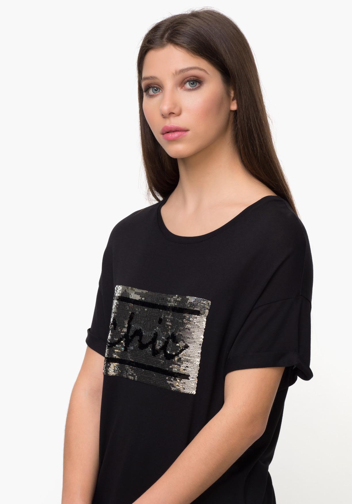 Comprar Mujer Lentejuelas De ¡aprovéchate Tex Camiseta Con raqfZrw e20676d676fa