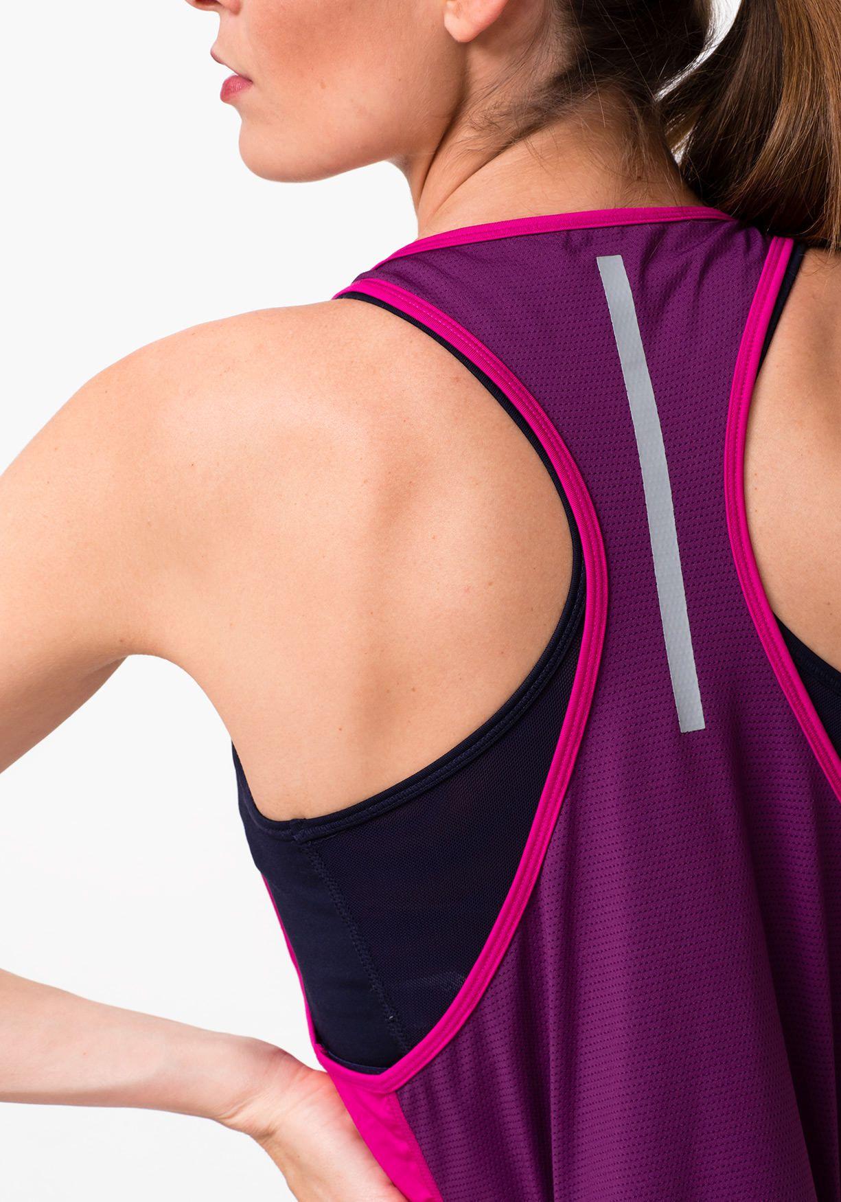4abb390c25 Comprar Camiseta deporte de mujer sin mangas con top TEX ...