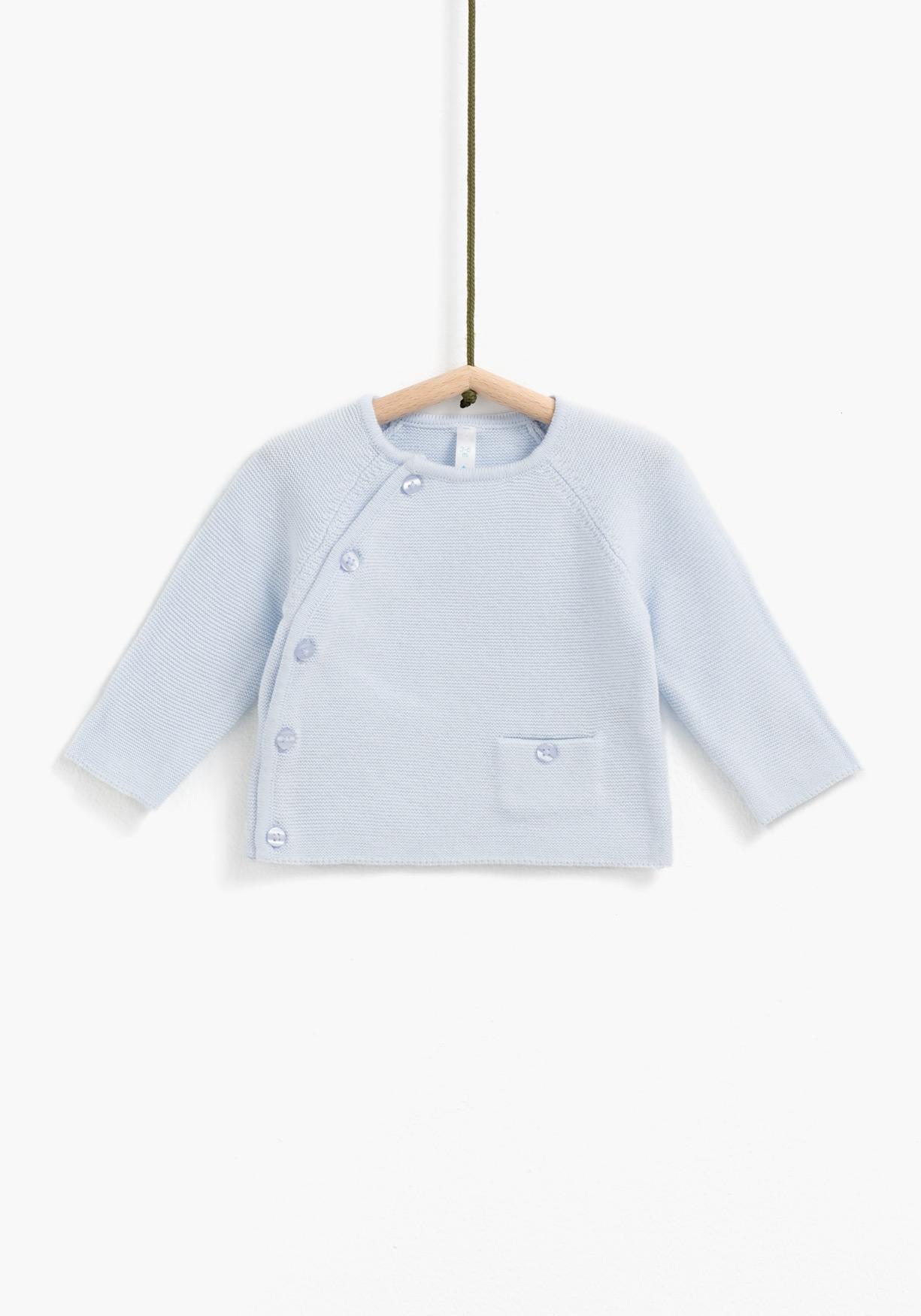 dbc8d4a6b Comprar Jersey con apertura lateral para recién nacido unisex TEX ...