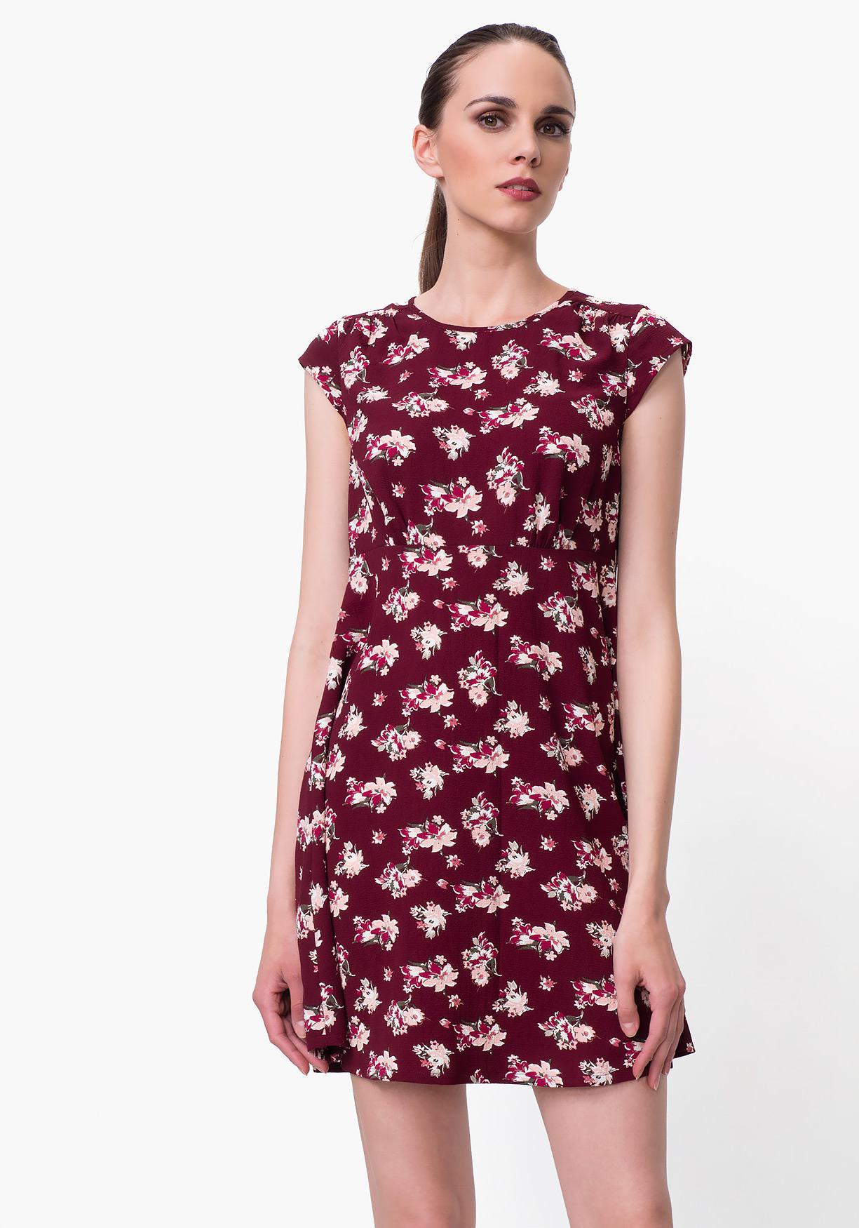 2b200de505732 Comprar Vestido de mujer corto estampado TEX. ¡Aprovéchate de ...