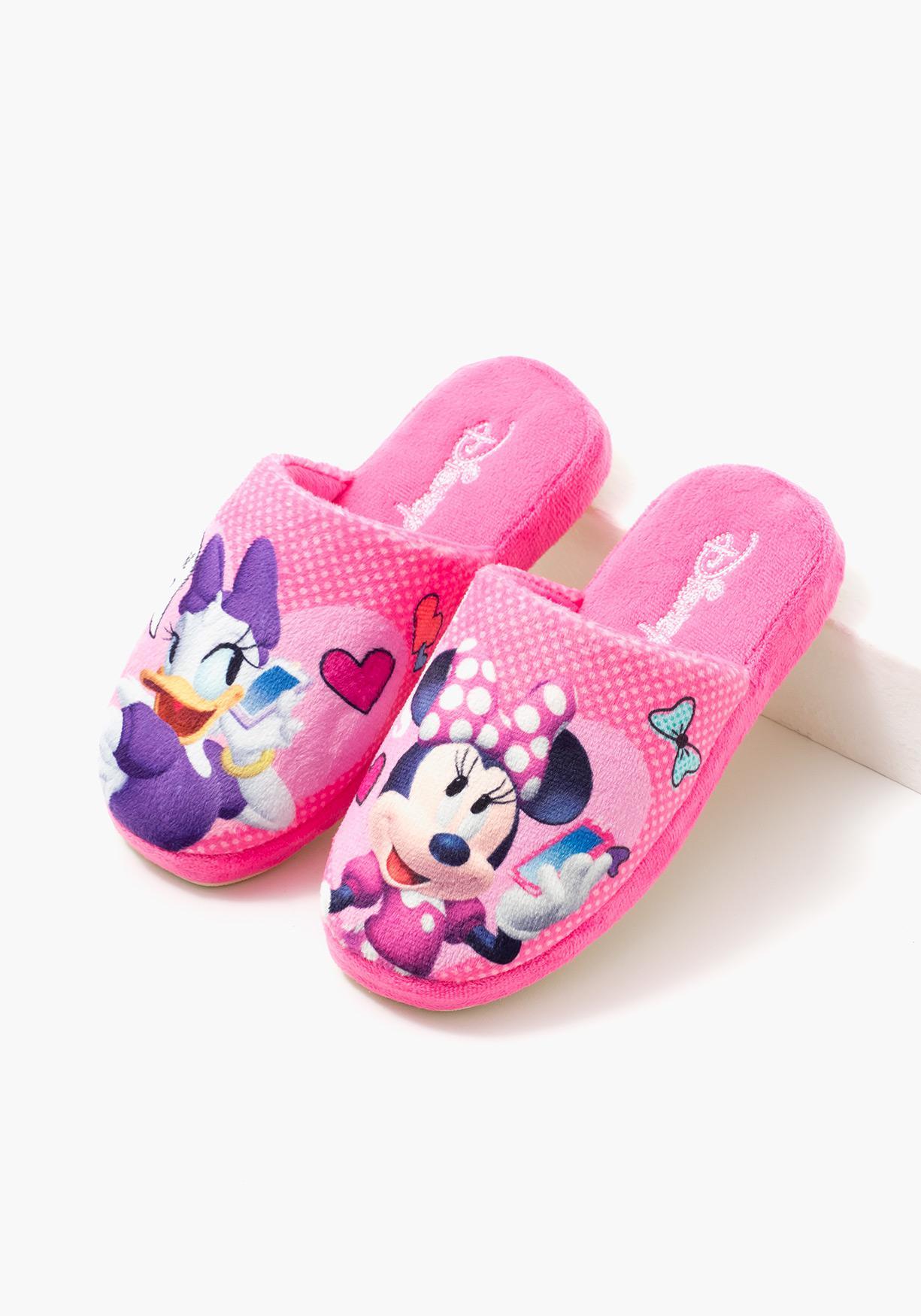 3d339b8530 Zapatillas de estar por casa Minnie y Daisy de DISNEY (Tallas 28 a 36)