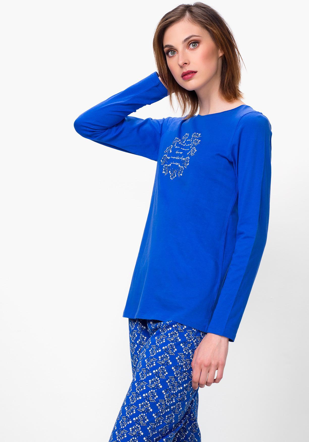 4ebd773ba3 Comprar Pijama de mujer con manga larga TEX. ¡Aprovéchate de ...