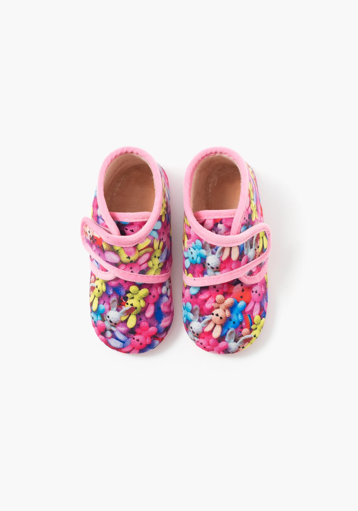Comprar zapatillas de estar por casa estampadas tex tallas 21 a 30 aprov chate de nuestros - Zapatillas casa nino carrefour ...