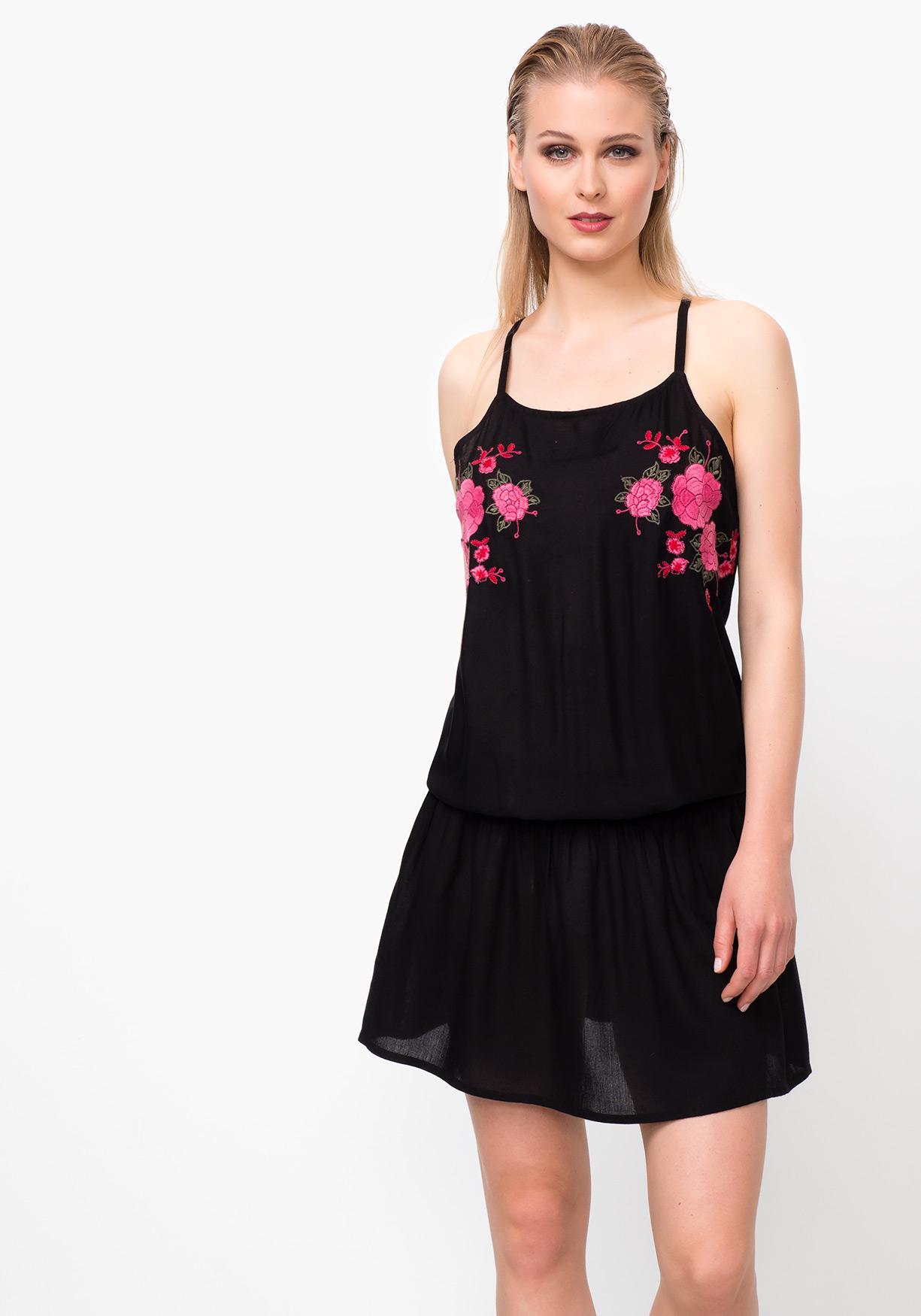700bd6d55 Comprar Vestido de mujer de playa bordado TEX. ¡Aprovéchate de ...