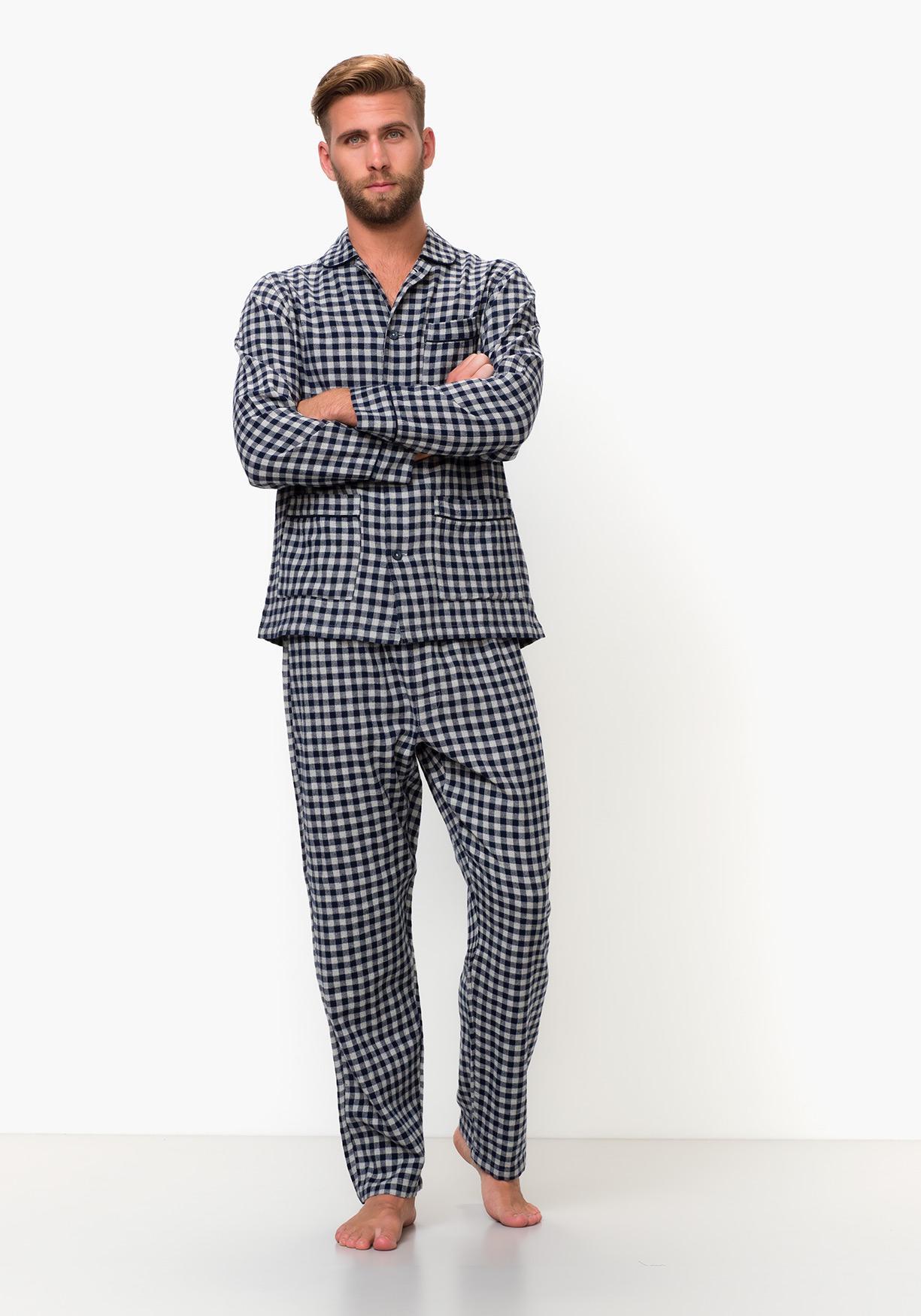 5b93b4766 Comprar Pijama franela de manga larga de cuadros TEX. ¡Aprovéchate ...