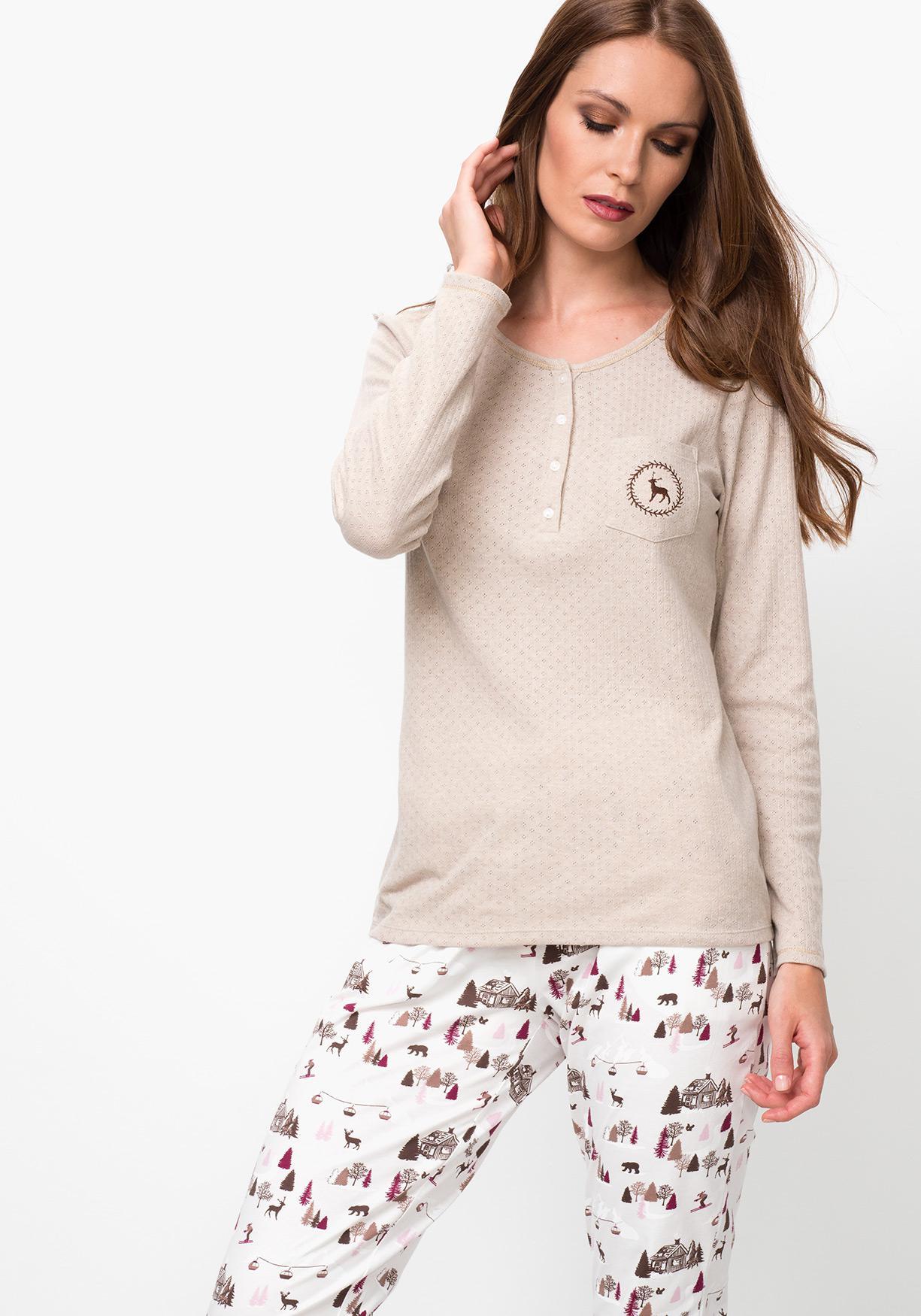 Comprar Camiseta lencería de mujer manga larga TEX. ¡Aprovéchate de ... 98ffbebe7ab0