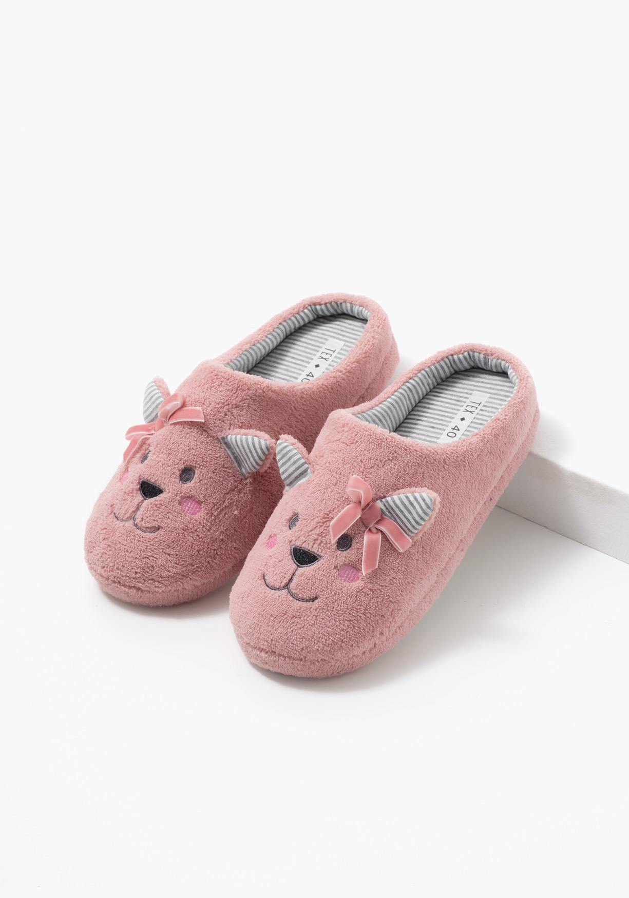 Comprar zapatillas de estar por casa con carita de animal tex aprov chate de nuestros precios - Zapatillas para casa ...