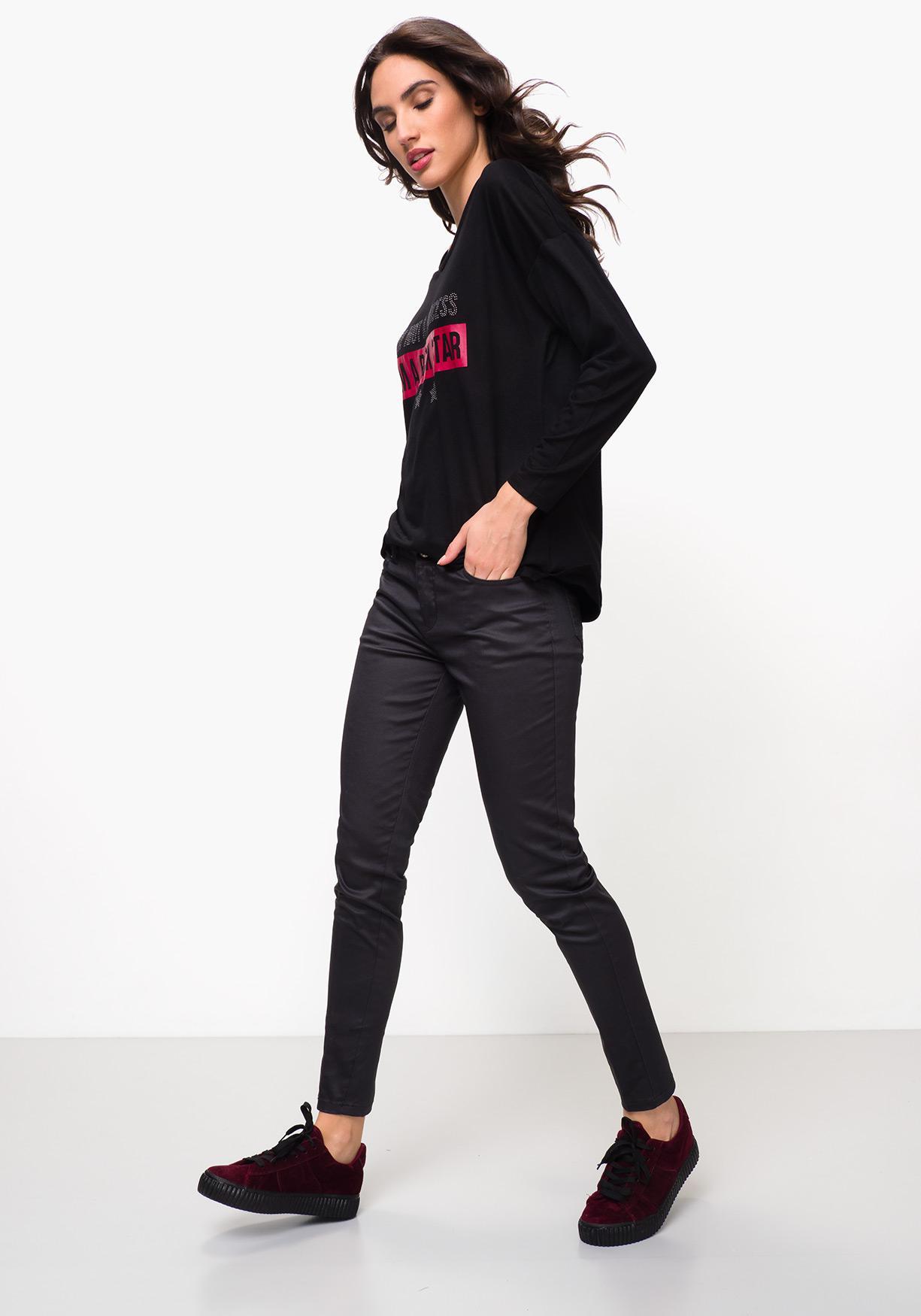 0badd372904 Mujer De Camiseta Larga Manga Comprar Tex ¡aprovéchate Nuestros UqxROnwp