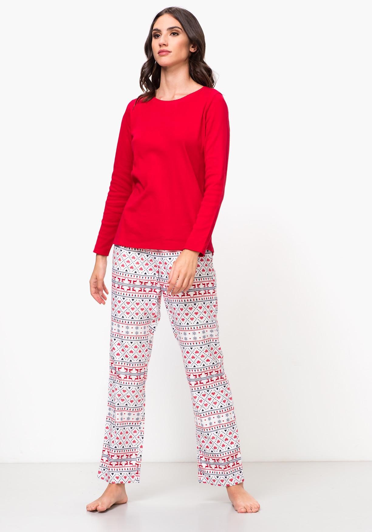 a14059af0 Comprar Pijama de mujer combinado navidad TEX. ¡Aprovéchate de ...