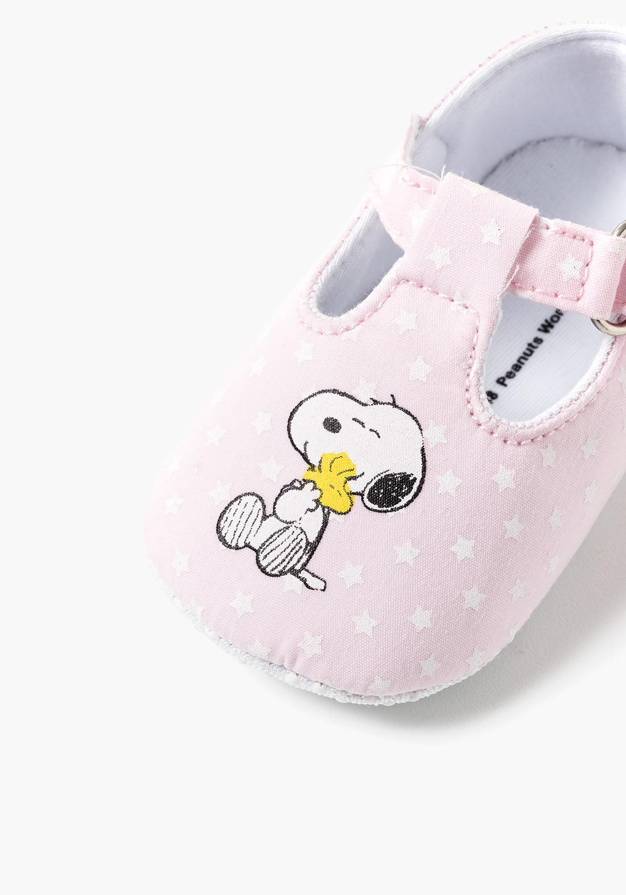 c31c9dd4a Comprar Merceditas de recién nacido SNOOPY (Tallas 16 a 20 ...