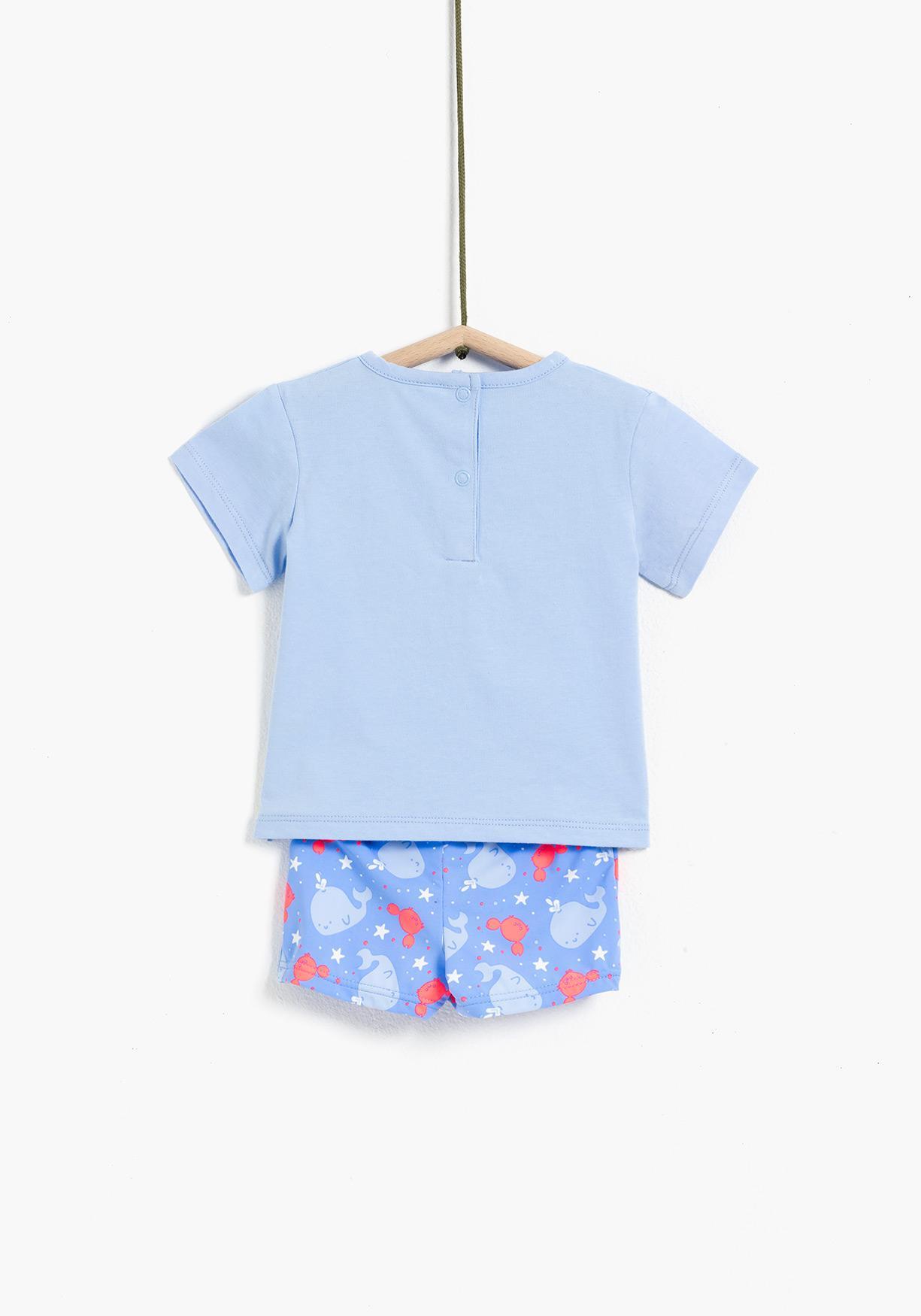 deb365fd7e3f Comprar Conjunto de camiseta y bañador bóxer TEX. ¡Aprovéchate de ...