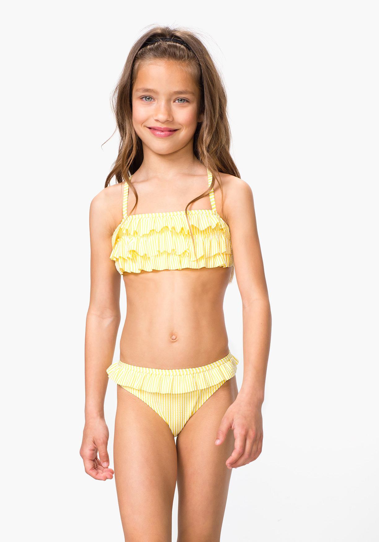 0f5fea59329b Comprar Bikini bandeau seersuker TEX. ¡Aprovéchate de nuestros ...