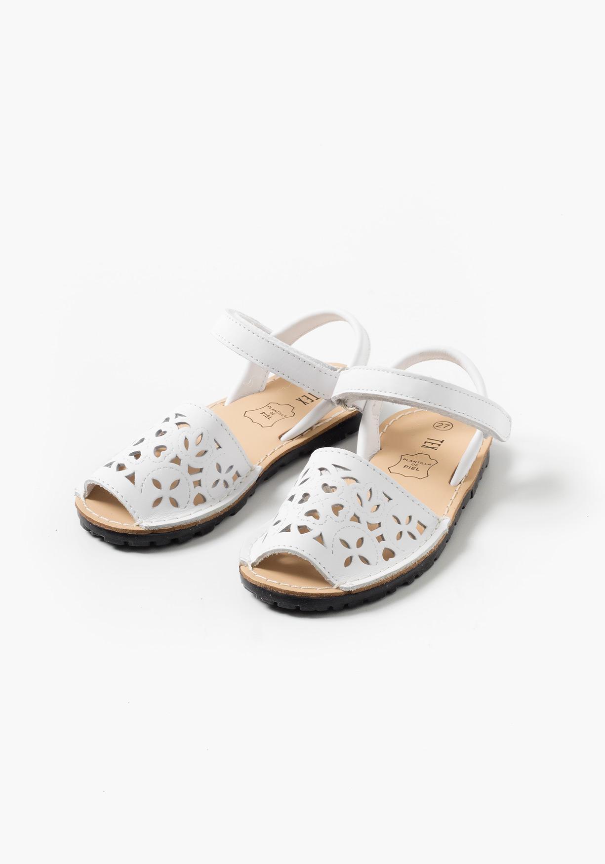 4ce5c9410a9 Comprar Sandalias menorquinas de piel TEX (Tallas 22 a 27 ...