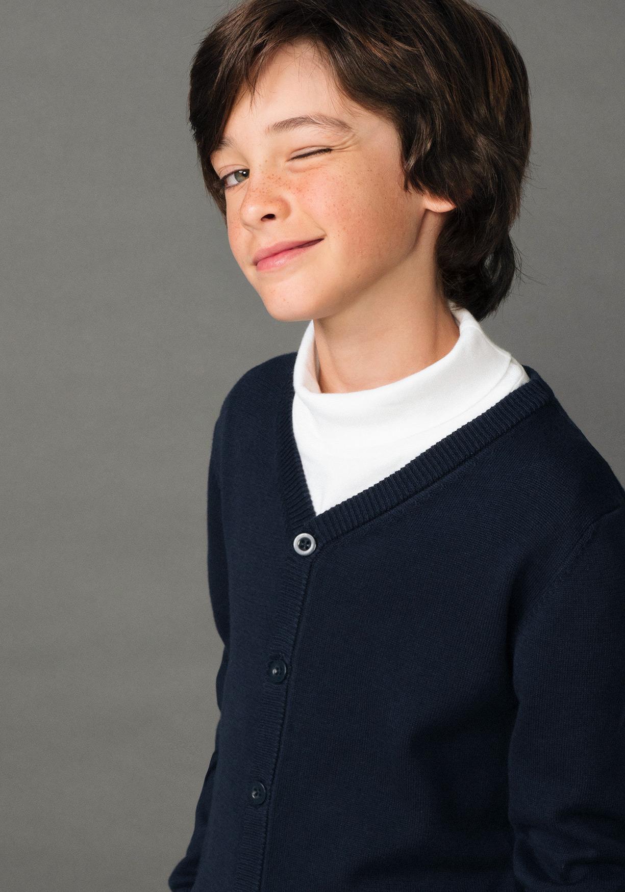 52cce9500844b Comprar Chaqueta de algodón unisex para uniforme (tallas 3 a 18 años ...