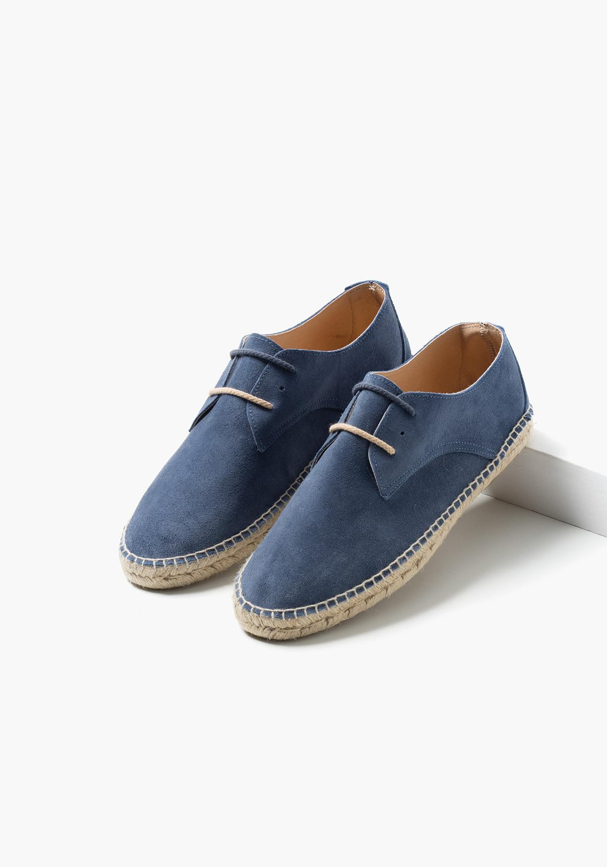 f14ebefb Comprar Zapatos de piel con suela de esparto TEX. ¡Aprovéchate de ...
