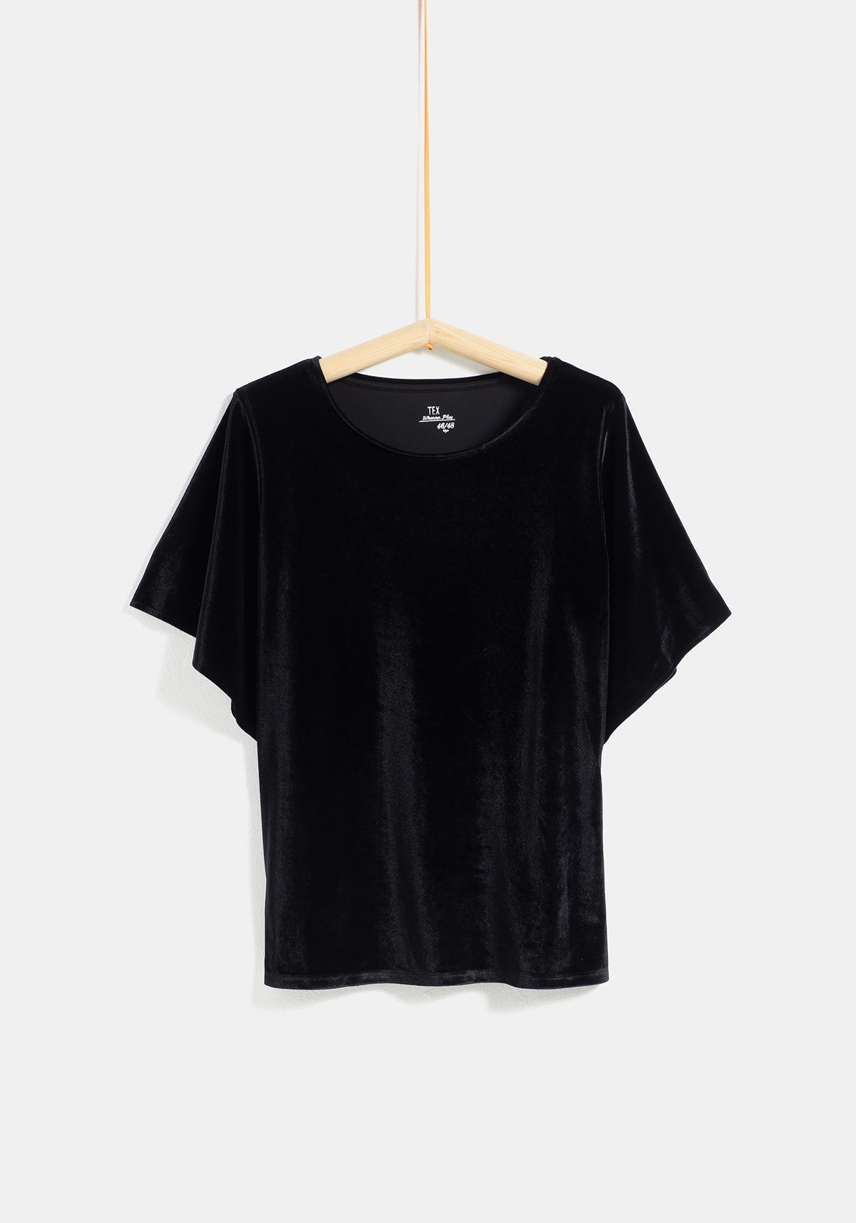 c6519ebef58 Comprar Camiseta de terciopelo tallas grandes TEX. ¡Aprovéchate de ...