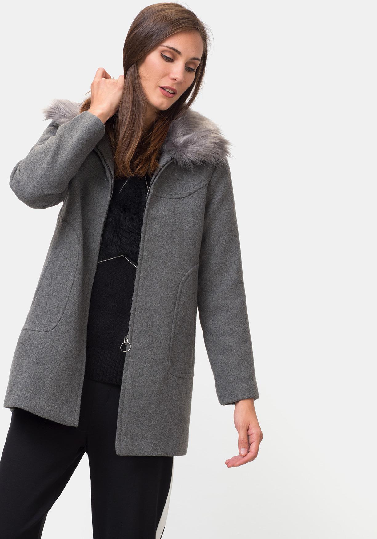 Comprar Abrigo corto de paño TEX. ¡Aprovéchate de nuestros precios y ... 20412c289bdb