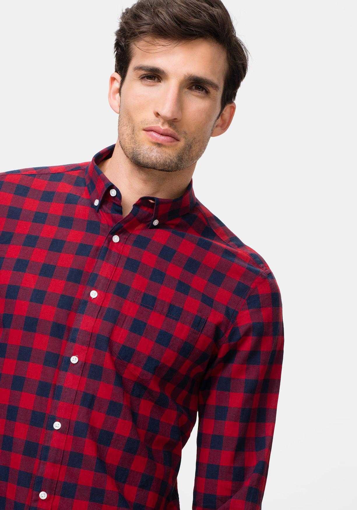 8520eecd463 Comprar Camisa de manga larga de cuadros TEX. ¡Aprovéchate de ...