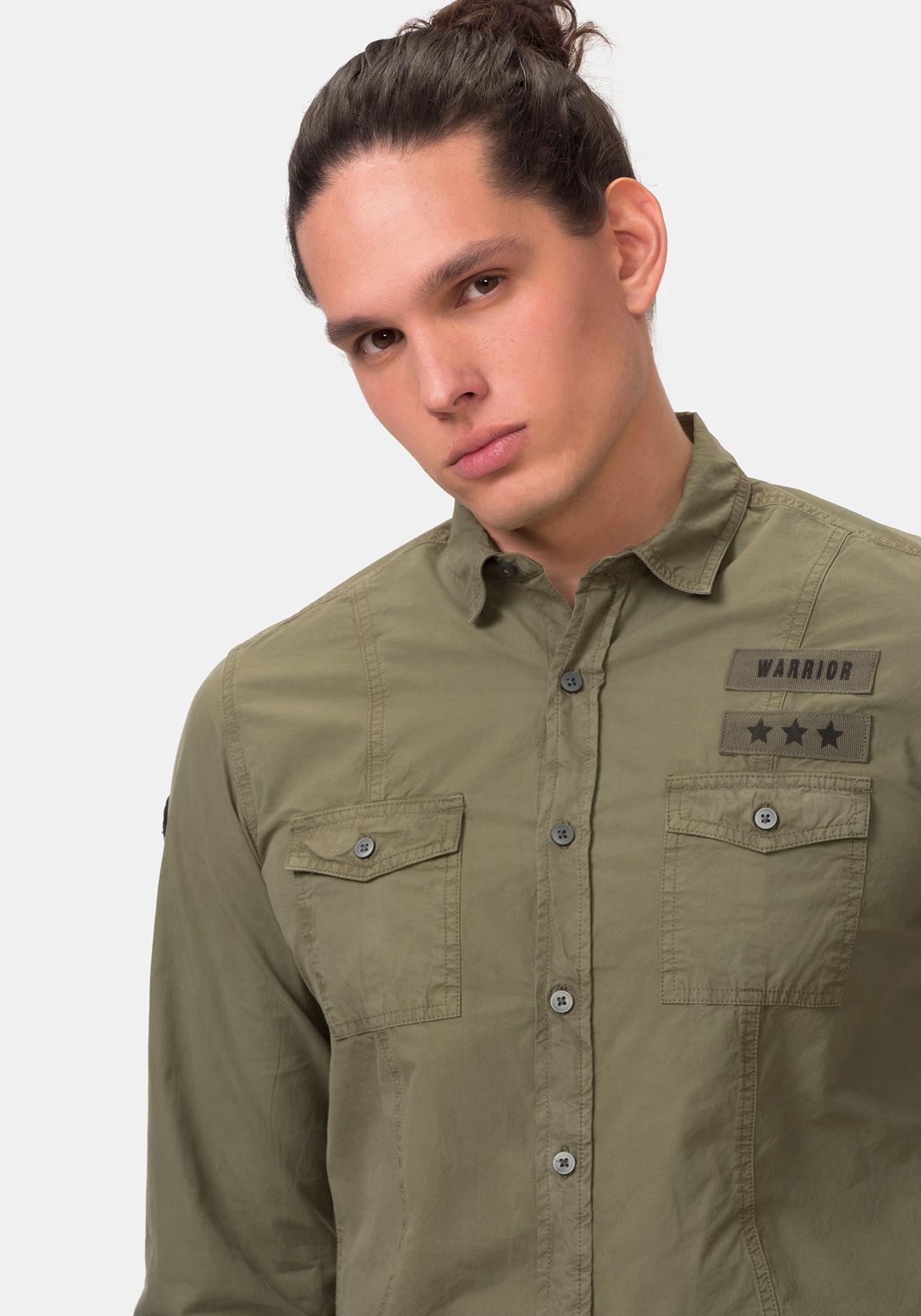 Comprar Camisa militar lisa TEX. ¡Aprovéchate de nuestros precios y ... 660f727bb6ce