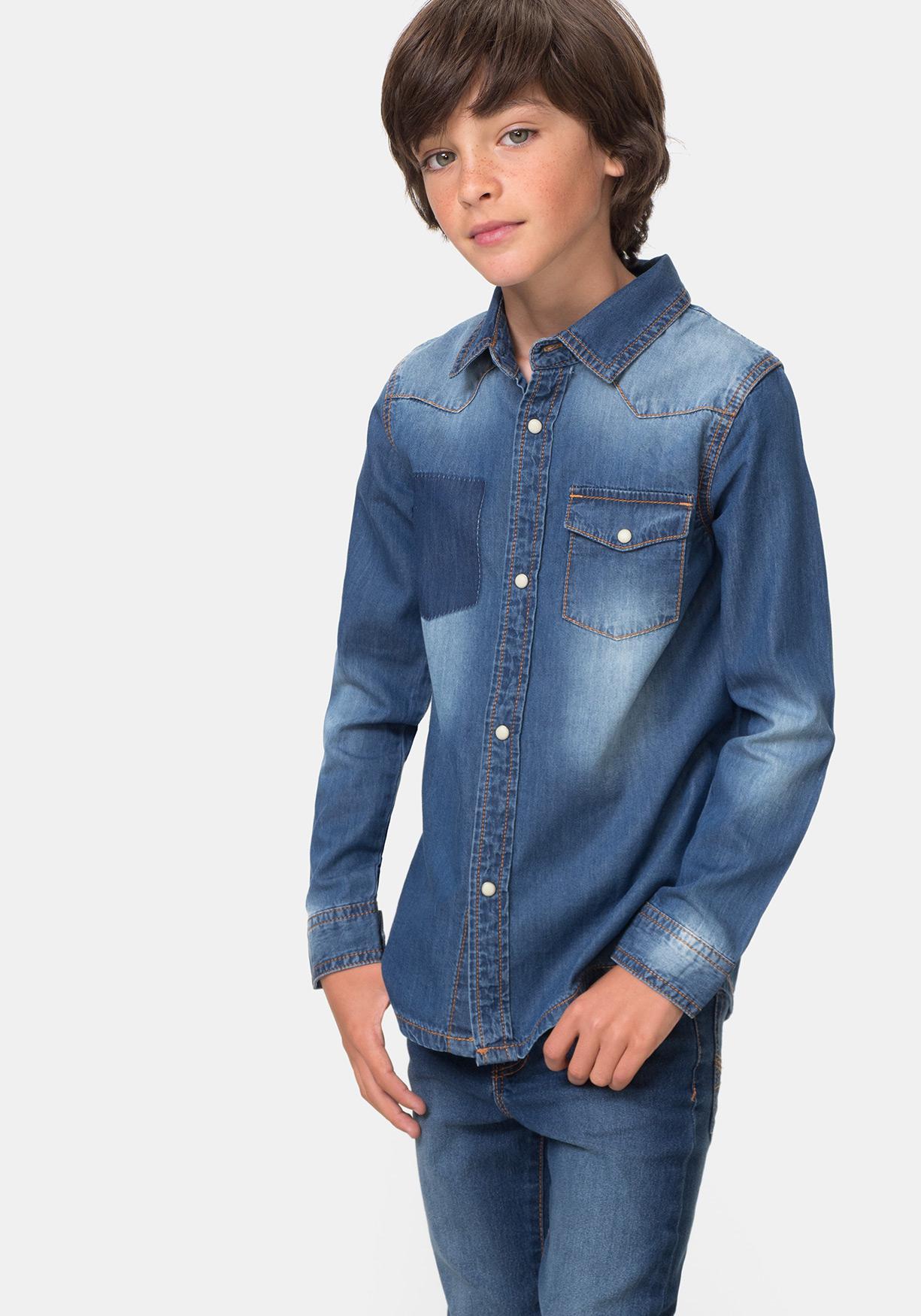 f3e64e466 Comprar Camisa vaquera manga larga. ¡Aprovéchate de nuestros precios ...