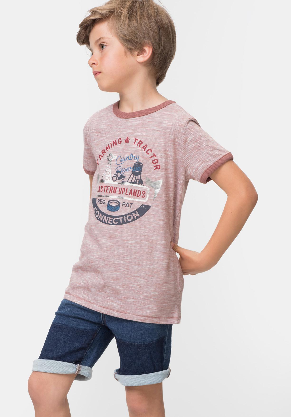 381f214a3e Comprar Camiseta estampada de manga corta TEX. ¡Aprovéchate de ...