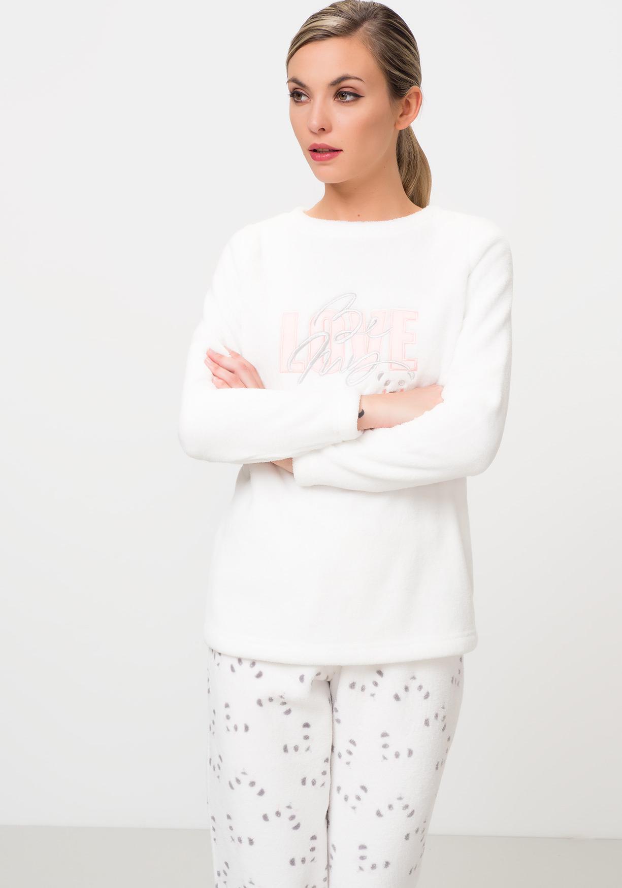 c47890e33 Comprar Pijama polar estampado TEX. ¡Aprovéchate de nuestros precios ...