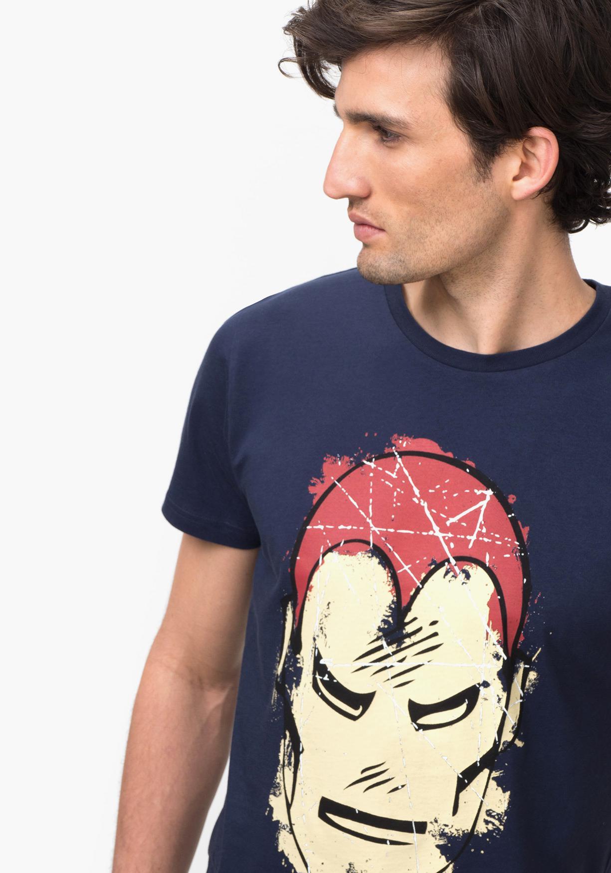 Nuestros Camiseta Corta De Manga Comprar Marvel¡aprovéchate SqMVUzp