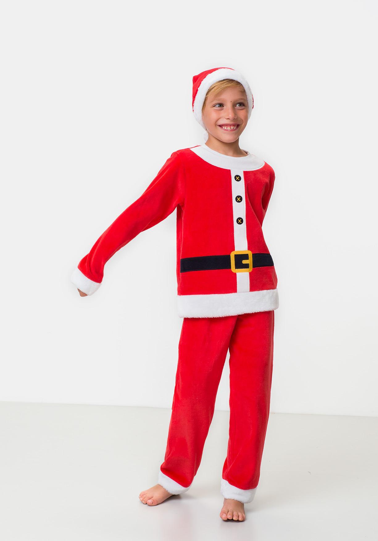Comprar Pijama de Papá Noel con gorrito TEX. ¡Aprovéchate de ... 0af05afa6f14