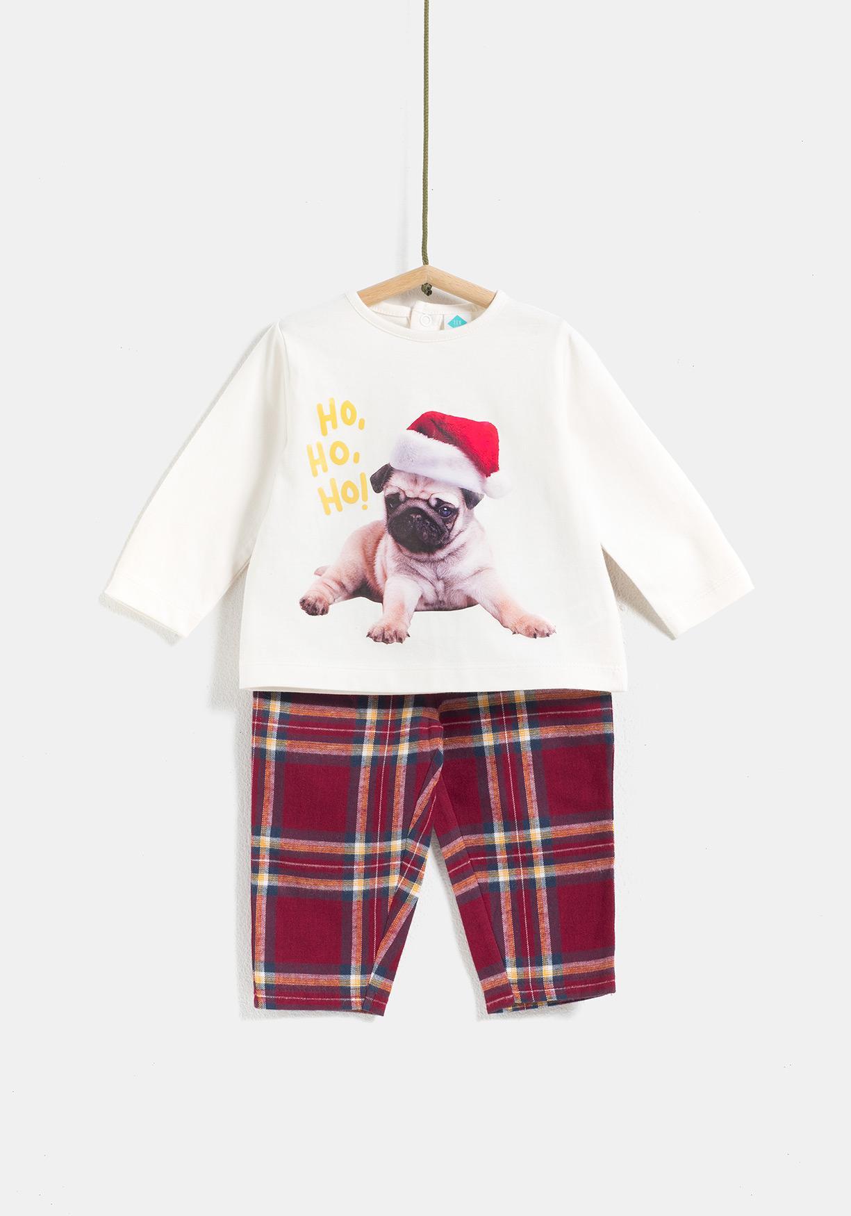 0a0235e92 Comprar Pijama dos piezas estampado Navidad TEX. ¡Aprovéchate de ...