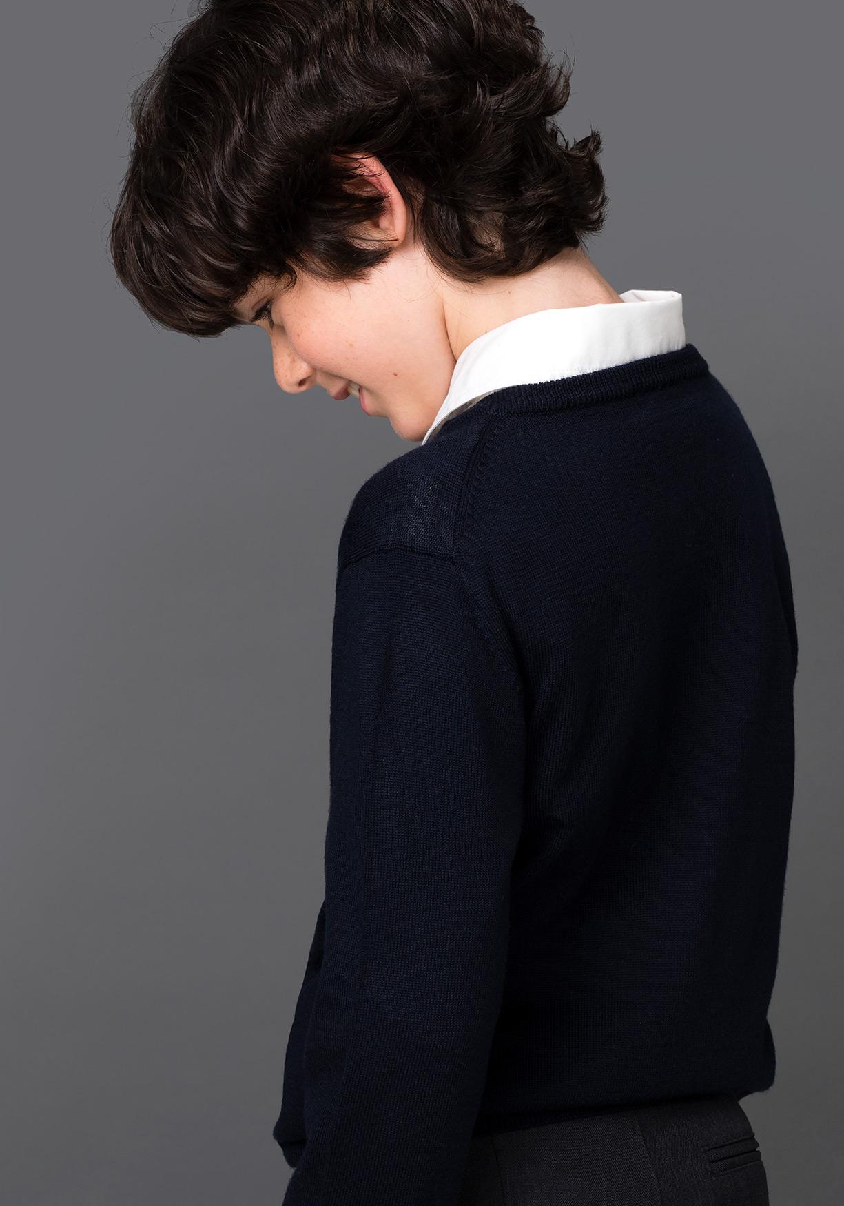 Comprar Jersey de lana unisex para uniforme (tallas 3 a 16 años) TEX ... a3f16e524bc1