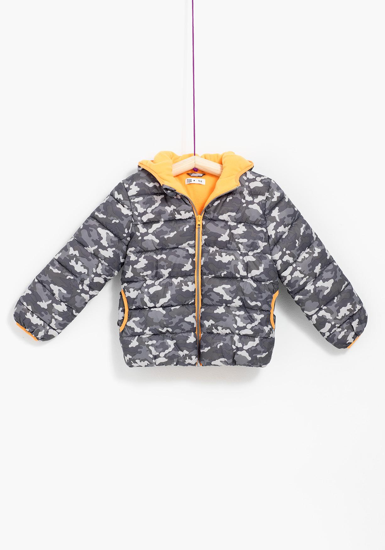 Parka estampada TEX