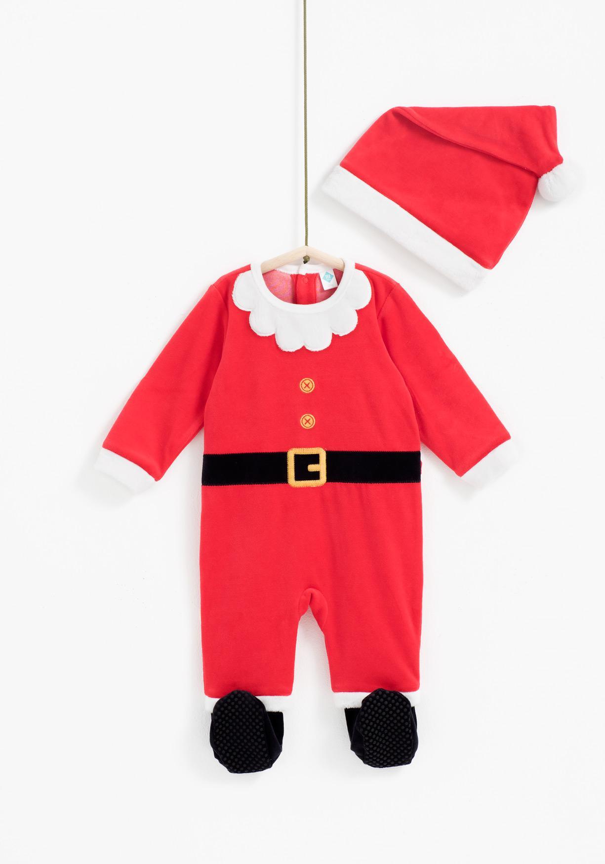 Comprar Conjunto pijama y gorro Papá Noel TEX. ¡Aprovéchate de ... bddfb00610e