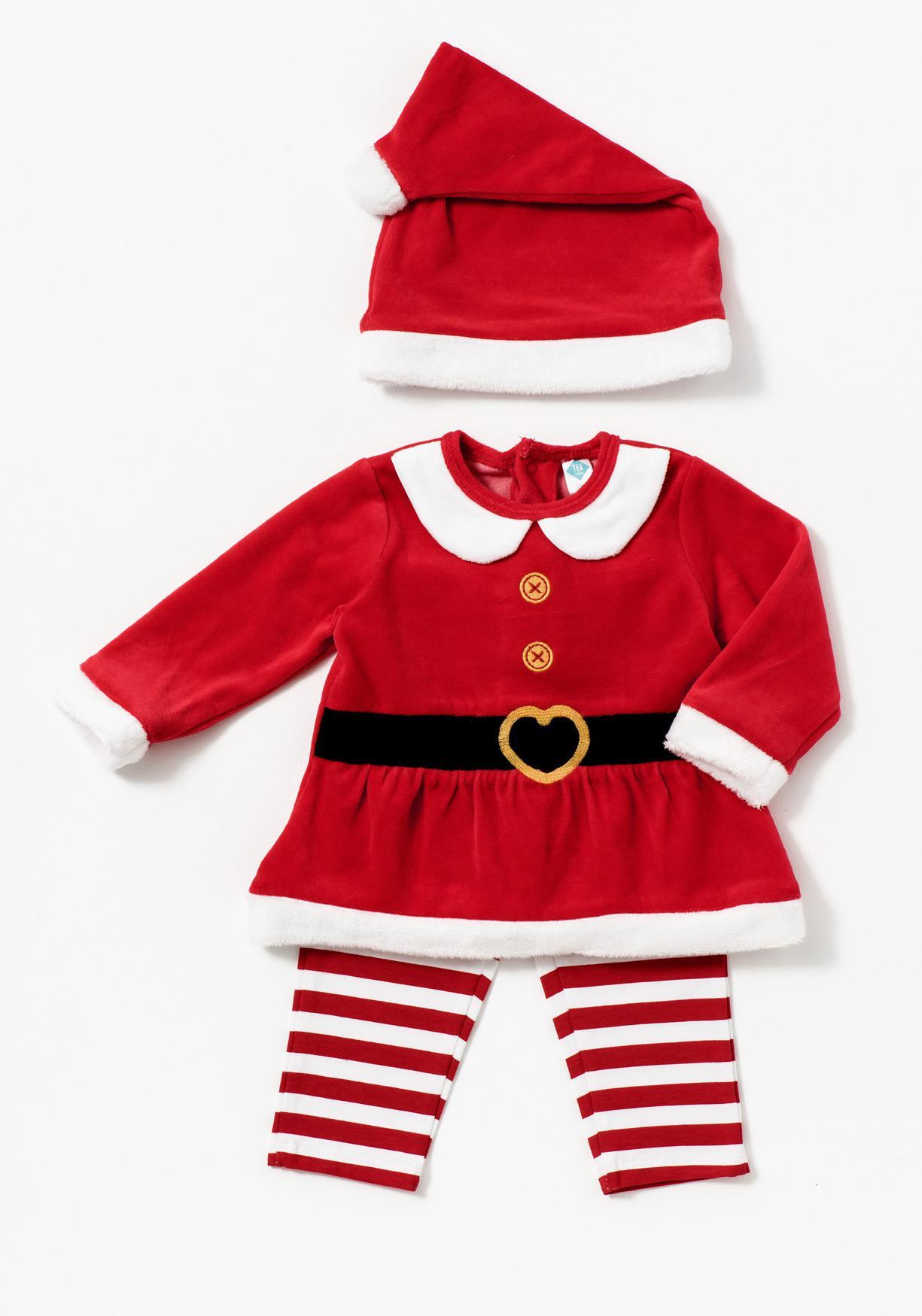 Comprar Conjunto pijama dos piezas y gorro Mamá Noel TEX ... b280783543fb
