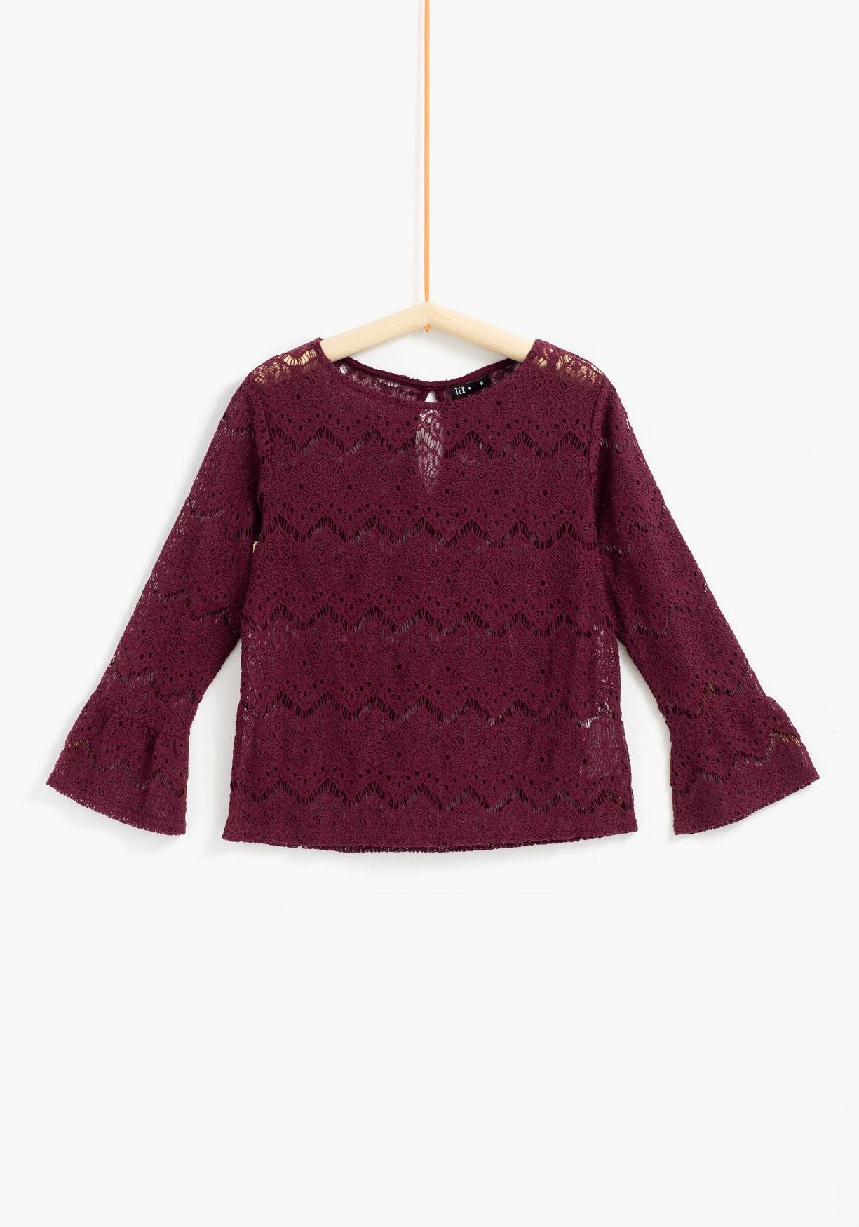 Top de crochet TEX
