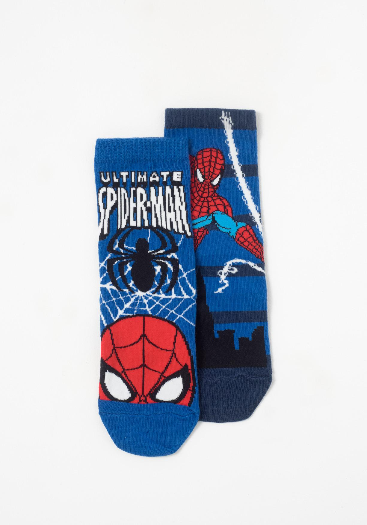 Pack de dos calcetines invisibles Spiderman DISNEY